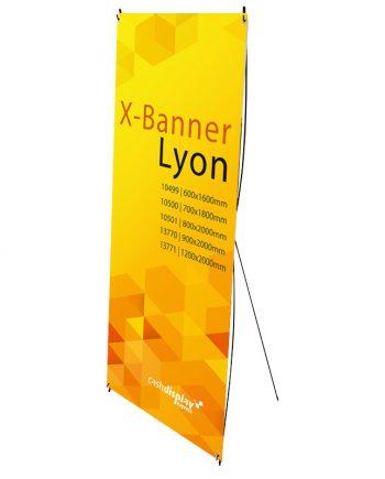 Soporte X-Banner Lyon