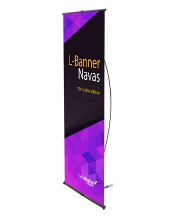 Display L-Banner - Soporte Publicitario