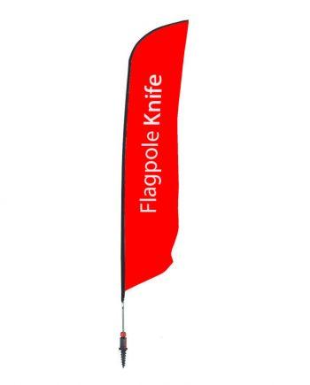 Banderola Publicitaria Knife