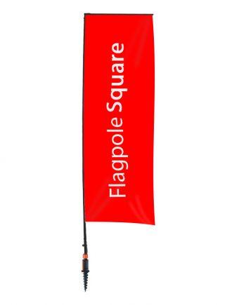 Banderola Publicitaria Square - Soporte Banderolas