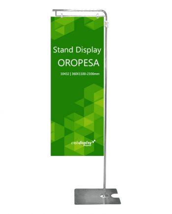 Soporte para Carteles Publicitarios Oropesa