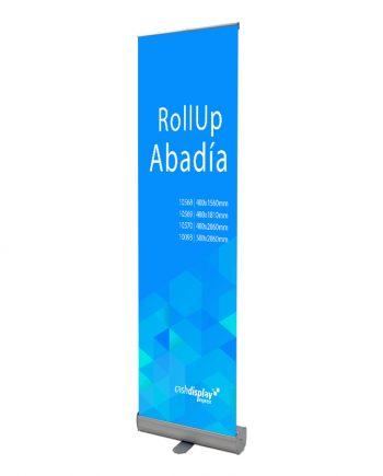 Roll-Up Económico Abadia - Display Publicitario